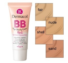 DERMACOL BB  MAGIC BEAUTY CREAM 8in1 TINT & MOISTURIZING FACE BB CREAM