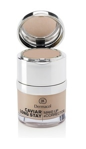 DERMACOL CAVIAR LOG LASTING MAKE-UP FOUNDATION AND CONCEALER