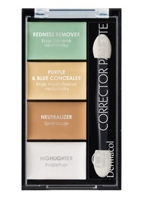 DERMACOL CORRECTOR PALETTE 4- COLOUR CONCEALER AND HIGHLIGHTER