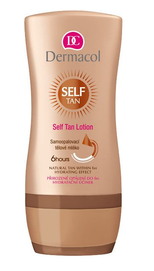 DERMACOL SELF TAN LOTION MILK NATURAL TANNING after 6 hrs