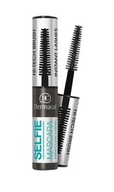 DERMACOL SELFIE MASCARA INSTANT LONG LASHES WITH HI-TECH BRUSH BLACK