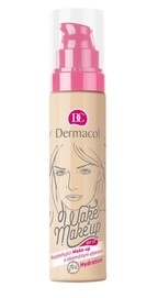 DERMACOL WAKE & MAKE-UP FOUNDATION  No.1 AMONG THE MAKE-UP