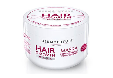 DERMOFUTURE HAIR GROWTH MASK ANTI-LOSS SILICONES & PARABENS FREE