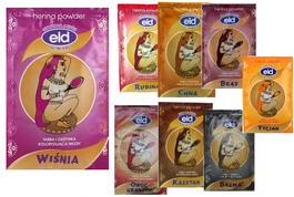 ELD ELANDA HAIR POWDER HENNA COLOUR DYE & CONDITIONER