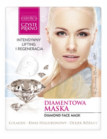 ESTETICA CLEAR BEAUTY DIAMOND FACE MASK LIFTING & REGENERATION