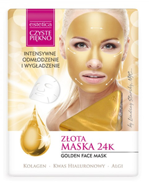 ESTETICA CLEAR BEAUTY GOLD 24K FACE MASK INTENSIVE REJUVENATING & SMOOTHING