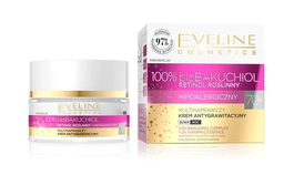 EVELINE 100% bio BAKUCHIOL MULTIREPAIR & ANTI-GRAVITY FACE CREAM HYPOALLERGENIC DAY NIGHT 70+