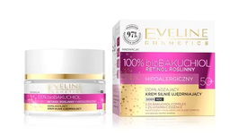 EVELINE 100% bio BAKUCHIOL REJEVENATING & FIRMING FACE CREAM HYPOALLERGENIC DAY NIGHT 50+