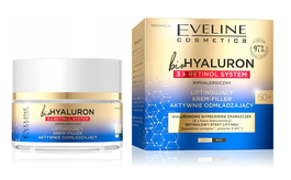 EVELINE BIO HYALURON 3X RETINOL SYSTEM LIFTING FACE CREAM FILLER ACTIVE REJUVENATION 50+