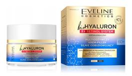 EVELINE BIO HYALURON 3X RETINOL SYSTEM MULTINOURISHING FACE CREAM FILLER STRONGLY REBUILDING 60+