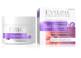 EVELINE CARE EXPERTS HIGHLY CONCENTRATED REGENERATING FACE CREAM SNAIL SLIME + Q10
