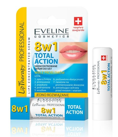 EVELINE COSMETICS 8IN1 TOTAL ACTION LIP CONCENTRATED SERUM LIP BALM