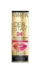 EVELINE COSMETICS ALL DAY IDEAL STAY 24h LIPSTICK PRIMER 8in1
