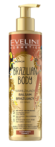 EVELINE COSMETICS BRAZILIAN BODY MOISTURIZING BRONZING BODY BALM LOTION 5in1