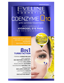 EVELINE COSMETICS COENZYME Q10 ANTI-WRINKLE HYDROGEL EYE PADS