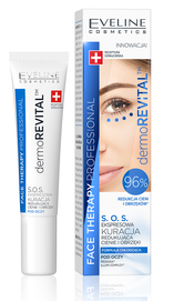 EVELINE COSMETICS DERMO REVITAL EXPRESS EYE CREAM TREATMENT DARK CIRCLES & PUFFINES REDUCTION