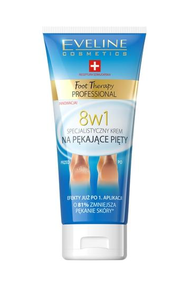 EVELINE COSMETICS FOOT THERAPY PROFESSIONAL 8IN1 SPECIALIST CREAM FOR CRACKED HEELS