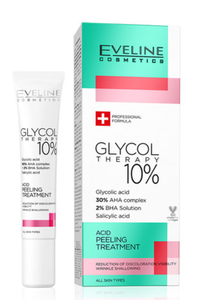 EVELINE COSMETICS GLYCOL THERAPY 10% ACID PEELING TREATMENT