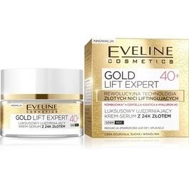 24f6b0d0884 EVELINE COSMETICS GOLD LIFT EXPERT 40+ FACE FIRMING CREAM SERUM WITH 24K  GOLD