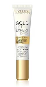 EVELINE COSMETICS GOLD LIFT EXPERT GOLD EYE AND LID CREAM