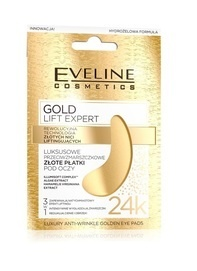 EVELINE COSMETICS GOLD LIFT EXPERT LUXURY ANTIWRINKLE GOLDEN EYE PADS