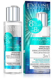 EVELINE COSMETICS HYALURON CLINIC INTENSIVE HYDRATING MAKE-UP BASE PRIMER 3IN1 HYDRATOR