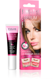 EVELINE COSMETICS HYALURON LIP PUSH-UP SERUM