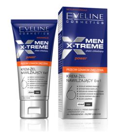 EVELINE COSMETICS MEN X-TREME AGAINST SIGNS OF FATIGUE CREAM GEL 6IN1
