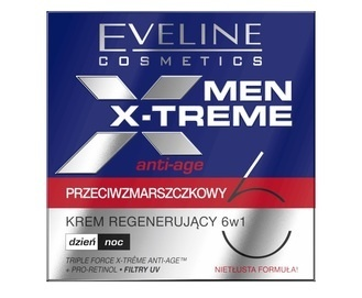 EVELINE COSMETICS MEN X-TREME ANTI-AGE REGENERATING CREAM 6in1
