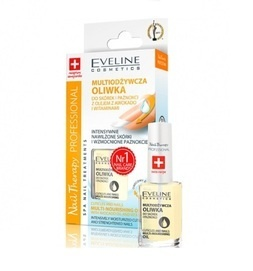 EVELINE COSMETICS NAIL THERAPY CUTICLES AND NAILS MULTI-NOURISHING OIL WITH AVOCADO OIL AND VITAMINS
