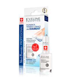 EVELINE COSMETICS NAIL THERAPY STRENGTHENER CONDITIONER WITH DIAMONDS