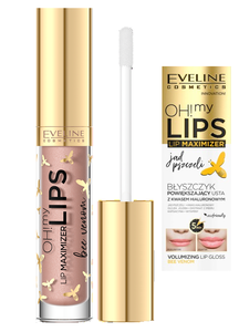 EVELINE COSMETICS OH! MY LIPS LIP MAXIMIZER VOLUMIZING LIPGLOSS HIALURON + BEE VENOM