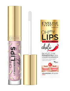 EVELINE COSMETICS OH! MY LIPS LIP MAXIMIZER VOLUMIZING LIPGLOSS HIALURON + CHILI