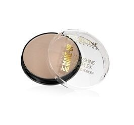 EVELINE COSMETICS PROFESSIONAL ART MAKE-UP ANTI-SHINE COMPLEX MATTIFYING MINERAL PRESSED POWDER WITH SILK