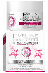 EVELINE COSMETICS RETINOL & ALGAE 3D-RETINOL SYSTEM REJUVENATING FACE CREAM STRONGLY FIRMING