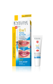 EVELINE COSMETICS TOTAL ACTION 8IN1 INTENSE HYALURONIC LIP PLUMPER WITH COLLAGEN
