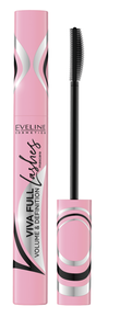 EVELINE COSMETICS VIVA FULL LASHES MASCARA EXTRA VOLUME & DEFINITION BLACK