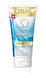 EVELINE FACEMED+ 8w1 ACTIVE FACE GEL DEEP CLEANSING ANTI IMPERFECTIONS