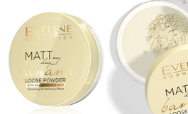EVELINE MATT MY DAY BANANA LOOSE POWDER CORRECTING & MATTIFYING ANTI-SHINE