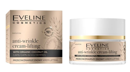 EVELINE ORGANIC GOLD ANTI-WRINKLE FACE CREAM LIFTING WITH COCONUT OIL