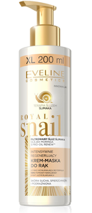 EVELINE ROYAL SNAIL INTENSIVE REGENERATING HAND CREAM MASK