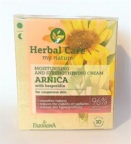 FARMONA HERBAL CARE ARNICA MOISTURIZING & STRENGTHENING FACE CREAM CAPPILARY SKIN