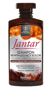 FARMONA JANTAR REVITALIZING HAIR COLOUR SHAMPOO AMBER & PIGMENT BROWN HAIR