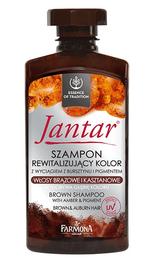 FARMONA JANTAR REVITALIZING HAIR COLOUR SHAMPOO AMBER & PIGMENT BROWN HAIR