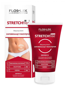 FLOSLEK SLIM LINE STRECH FREE ACTIVE PREVENTING BODY CREAM ANTI-STRECH MARKS