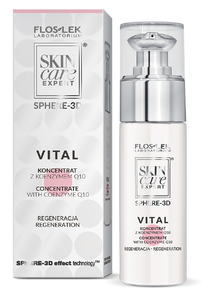 FLOSLEK SPHERE - 3D FACE SERUM CONCENTRATE WITH COENZYME Q10 REGENERATION