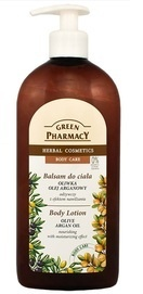 GREEN PHARMACY HERBAL BODY LOTION OLIVE & ARGAN OIL MOISTURIZING