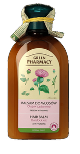 GREEN PHARMACY HERBAL COSMETICS HAIR CARE BALM BURDOCK OIL AGAINST HAIR LOSS