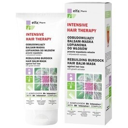 GREEN PHARMACY INTENSIVE HAIR THERAPY BURDOCK REBUILDING BALM MASK AGAINST HAIR LOSS WITH GROWTH ACTIVATOR
