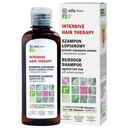 GREEN PHARMACY INTENSIVE HAIR THERAPY BURDOCK SHAMPOO AGAINST HAIR LOSS WITH GROWTH ACTIVATOR